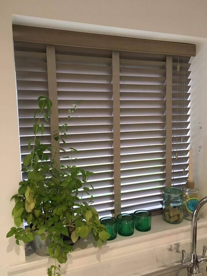 Bathroom Wooden blinds Falkirk