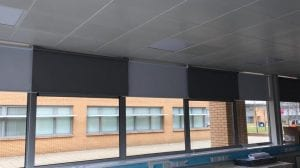 Commercial Roller Blinds West Lothian College Roller 20MAR19