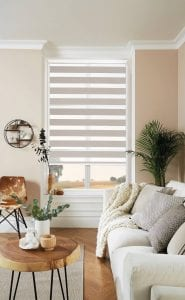 Motorised vision blinds