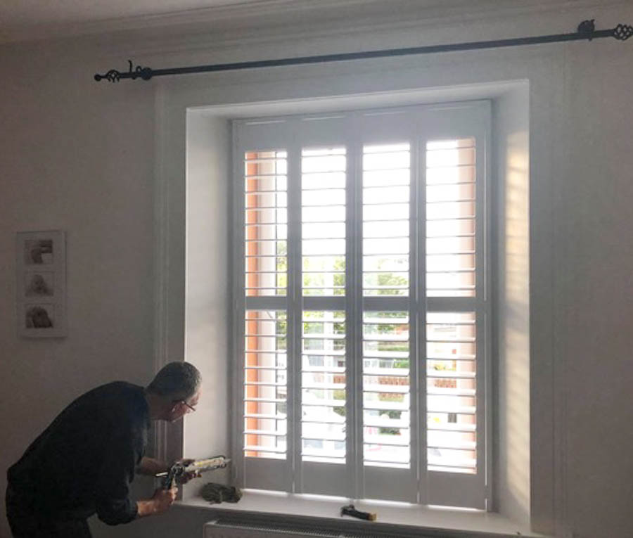 Wooden Shutters Kirkliston by Stylerite-blinds Livingston, West Lothian