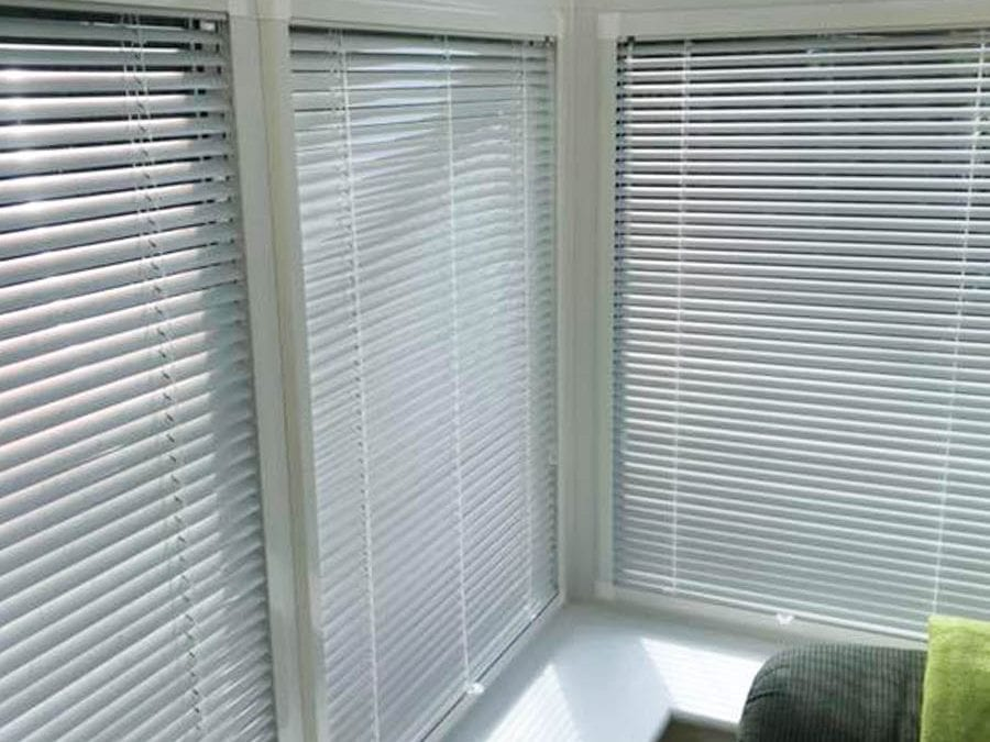 Conservatory Venetian Blinds by Stylerite.